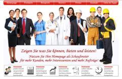 Homepage für Unternehmen, Webauftritte für Freiberufler und Selbstständige, Webseiten für Vereine und Künstler