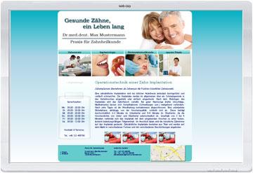 Praxis Homepage erstellen